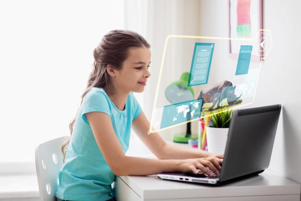 kinder lernen online